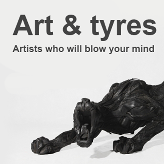 Art and tyres: Artists who will blow your mind