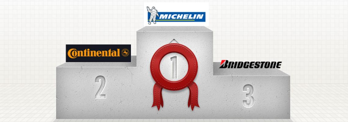 European Tyre Rankings – Top 5 – January 2014